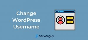How to Change WordPress Username?