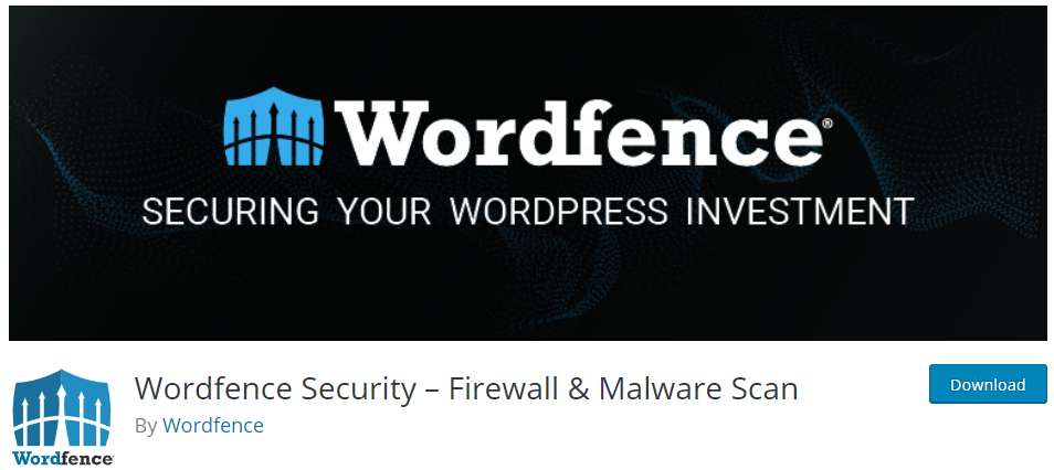 Wordfence Firewall for Malware SCan