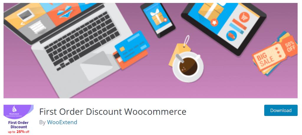 First Order Discount WooCommerce Plugin