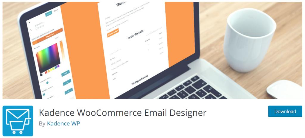 Kadence WooCommerce Email Designer