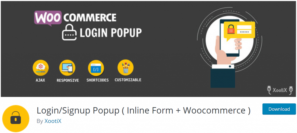 WooCommerce Login/Signup Popup