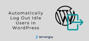 Automatically Log out Idle Users in WordPress